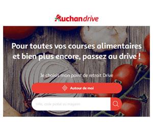 Auchan Drive cashback