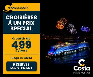 Costa Croisieres cashback