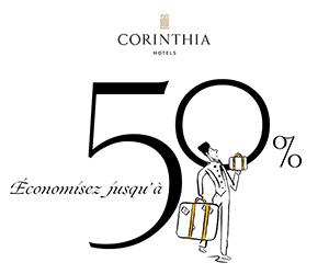 Corinthia Hotels cashback