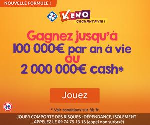 KENO de FDJ cashback