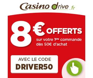 Casino drive cashback