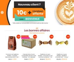 Coffee Webstore cashback