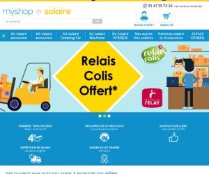 MyShop Solaire cashback