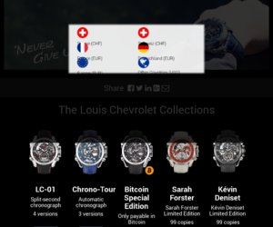Louis Chevrolet cashback