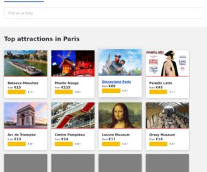 Come to paris cashback