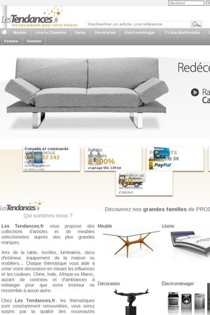 les tendances code promo gagnez du cashback les tendances qassa. Black Bedroom Furniture Sets. Home Design Ideas