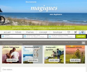 Daydreams France cashback