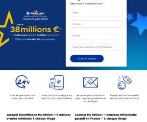 EUROMILLIONS de FDJ cashback