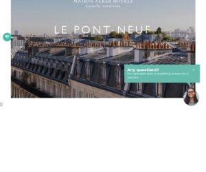 Maison Albar Hôtels Le PontNeuf cashback