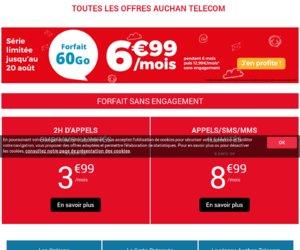 Auchan Telecom cashback