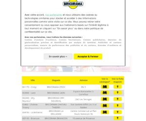 Bricorama cashback