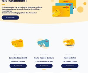 Ticket Kadéos cashback