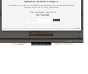Chic Intemporel cashback