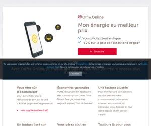 Direct Energie cashback