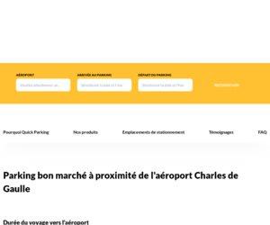 Quick Parking Charles de Gaulle cashback