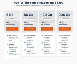 Bouygues Telecom Bbox  cashback