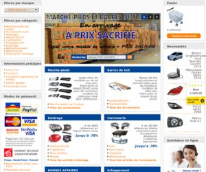 Pièces Auto & Tuning cashback