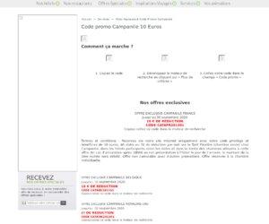 Hotels campanile cashback et codes promo qassa - Code promo vistaprint frais de port gratuit ...