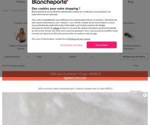Blancheporte cashback