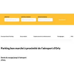 Quick Parking Orly cashback